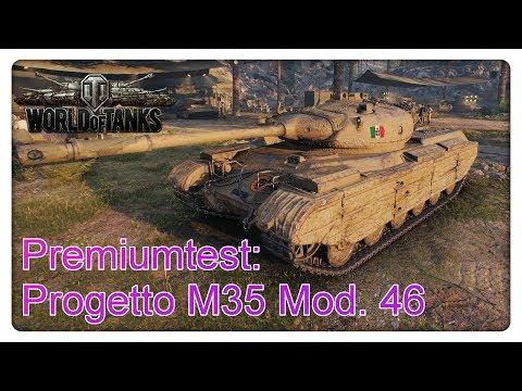 Stiftung Premiumtest: Progetto M35 Mod. 46