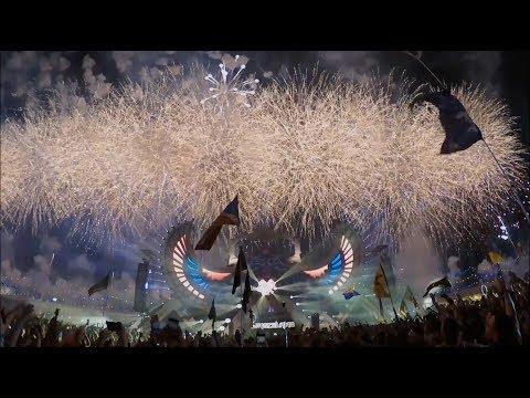 INSANE FIREWORKS | WE'RE IN HEAVEN | EDC 2018 | DJ ISAAC