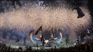 Insane Fireworks  Were In Heaven  Edc... @ www.OfficialVideos.Net