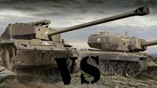 World of Tanks Blitz / T26E4 SuperPershing vs T34