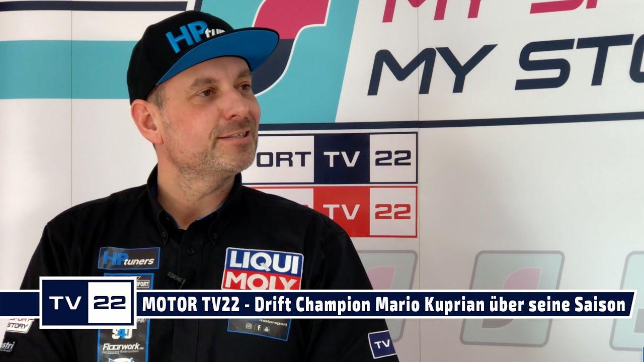 MOTOR TV22: Drift Champion Mario Kuprian über seine Saison 2021 - Das ausführliche Interview
