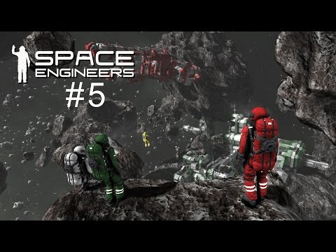 Space Engineers Tutorial 5 - Building a Mining Rig