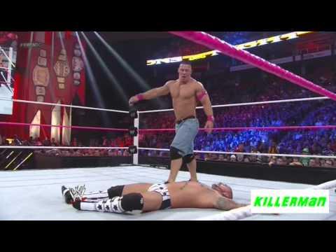 CM Punk Vs John Cena Highlights HD - Night of Champions 2012