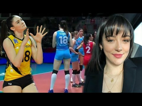 The beautiful Zehra Güne volleyball player from Turkey