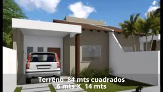 Planos de casa económica 85 metros cuadrados ®