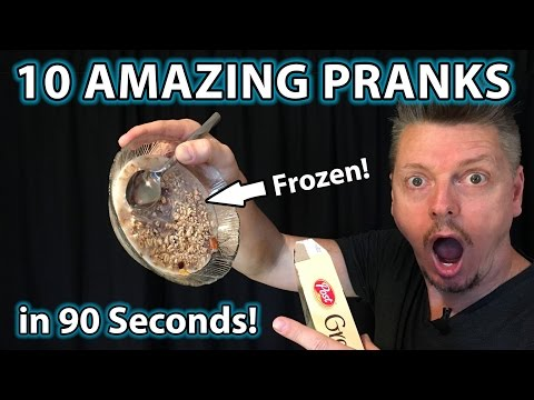 Top 10 Easy Fast PRANKS!!! (How to do Evil Tricks, Gags on Family)