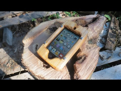 How to Make a Wooden Phone Case