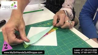 DAILY HOW TO: Scrappy String Paper Piecing
