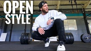 CLEAN LADDER WOD // 2018 CROSSFIT OPEN PREP