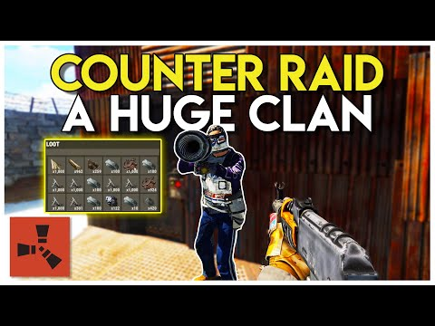 Counter RAIDING a ROCKET RAID and RAIDING a COMPOUND! - Rust Survival #84 thumbnail