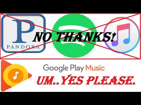 Google Play Music - Millions of Songs, Podcasts, No Ads - Get Rid of Everything Else! - 2018