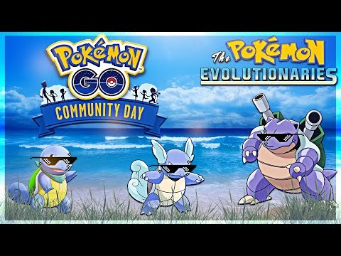 SQUIRTLE SQUAD!! Pokemon GO Community Day | July 2018 thumbnail