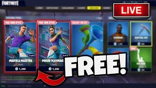 BEAT ME IN A 1V1 FOR THE SOCCER SKIN! *FORTNITE SOCCER SKIN FREE*