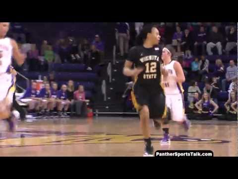 Katelin Oney, three point specialist UNI senior season