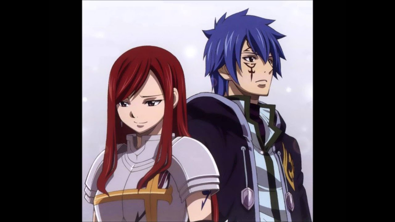 Fairy Tail's Jellal and Erza with Love Story - YouTube