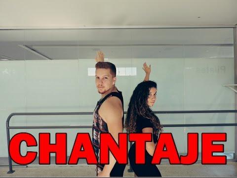 CHANTAJE – Shakira ft Maluma | Coreografia- ZUMBA- CHOREOGRAPHY