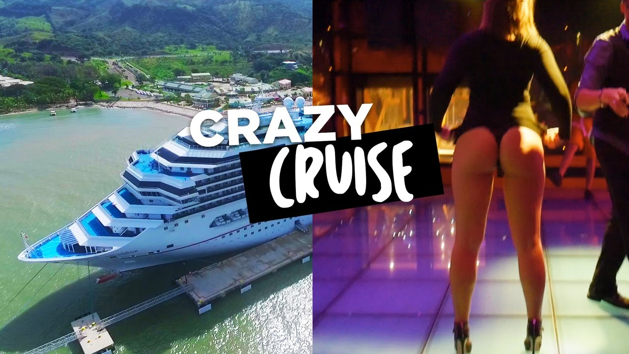 BEST CRAZY CRUISE SHIP TOUR EVER NAKED GIRLS VILLAS CHANNEL - Nude cruise ships