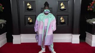 Chika on the Red Carpet I 2021 Annual GRAMMY Awards