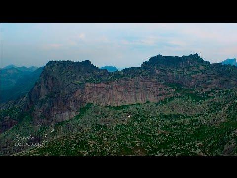 Природный парк Ергаки с высоты 2015