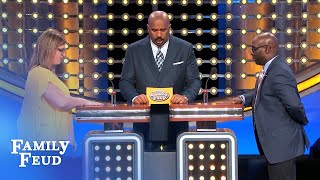 Grandma got ARRESTED for WHAT??? | Family Feud