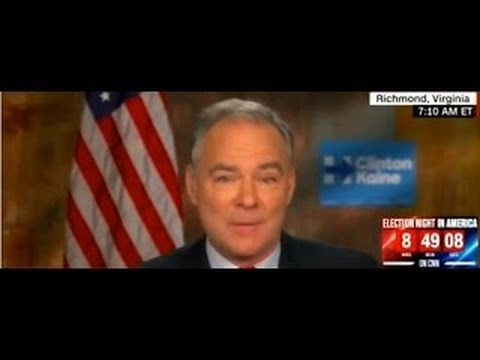 US-UK HotNews |  Sen. Tim Kaine Democratic Vice President Nominee on New Day