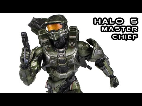 Play Arts Kai MASTER CHIEF Halo 5: Guardians Figure Review