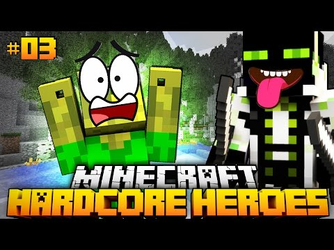 WIE hast DU DAS GEMACHT ROMAN?! - Minecraft Hardcore Heroes #03 [Deutsch/HD]