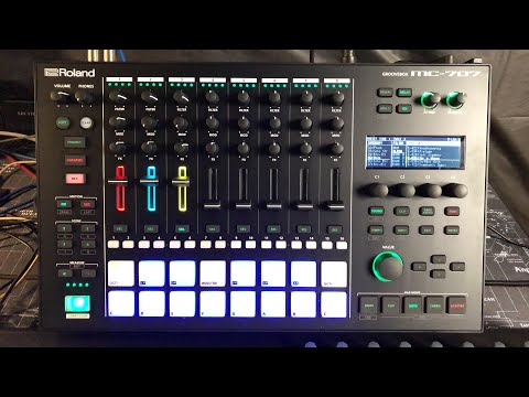 Roland MC-707 - Let's Explore The Sounds - Live