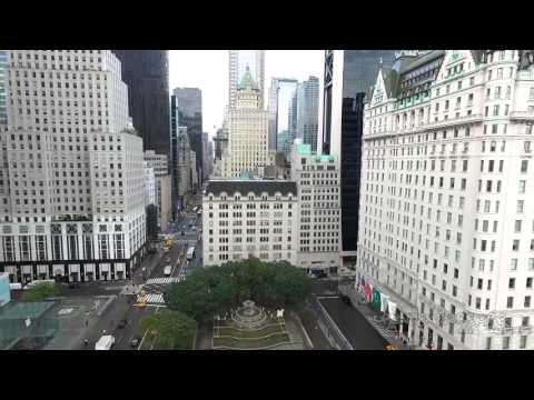 NYC Grand Army Plaza - drone phantom 3 quadcopter