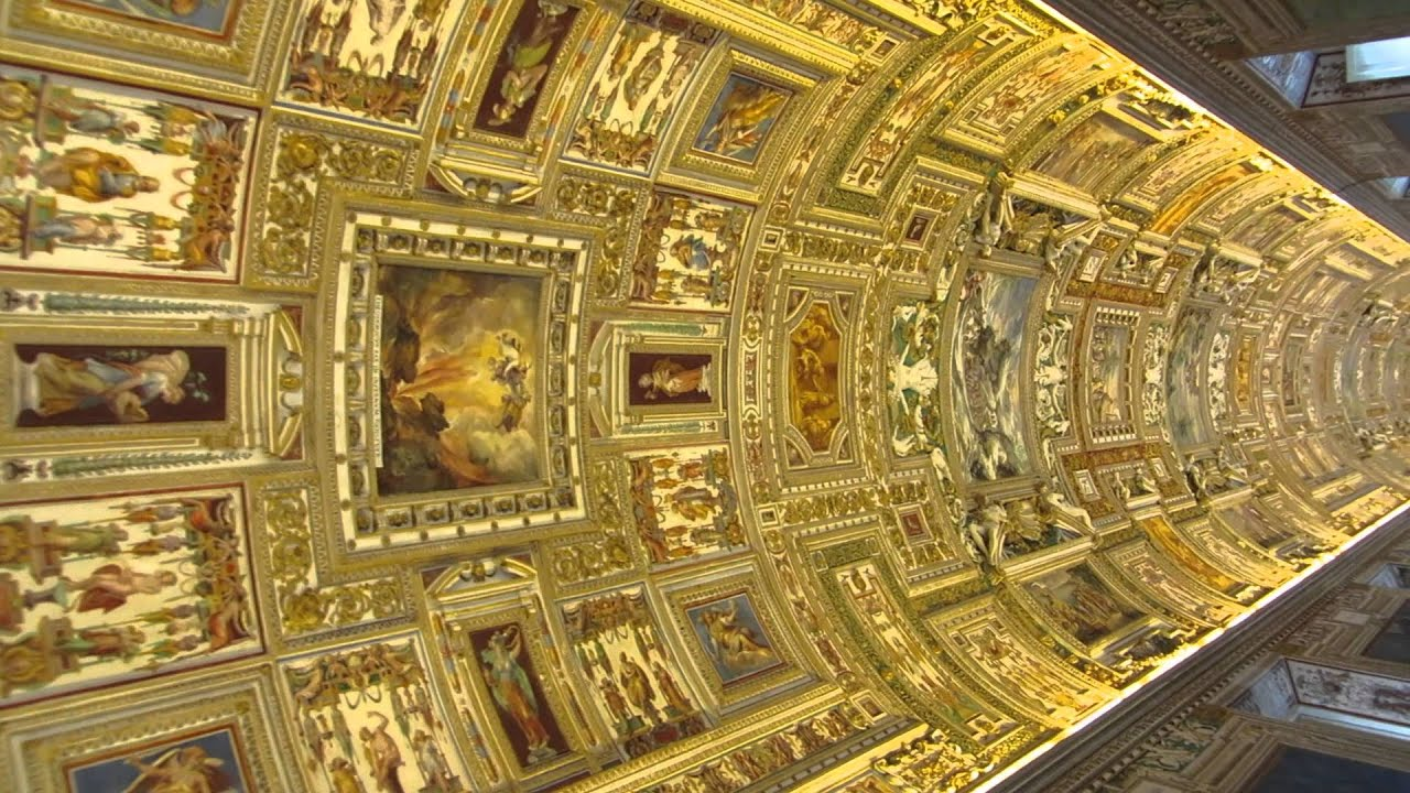Vatican Museums (Map Room) - YouTube