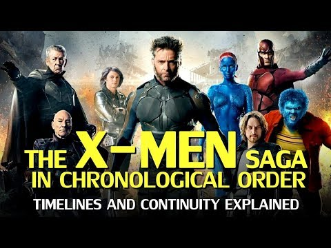 The X-Men Saga In Chronological Order – Timelines And Continuity Explained
