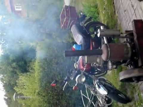 Skandia hot bulb engine