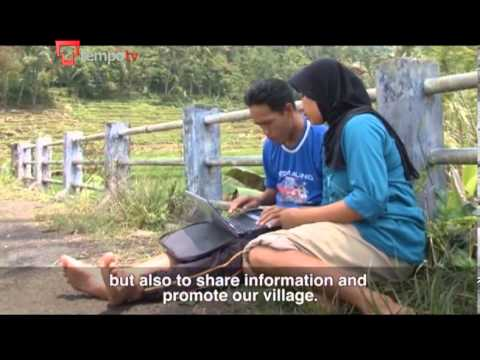 Remote Indonesian Village Creates It's Own Fast Internet Connection
