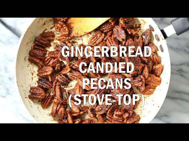 VEGAN CANDIED PECANS (STOVE-TOP OIL-FREE) |  Vegan Richa Recipes