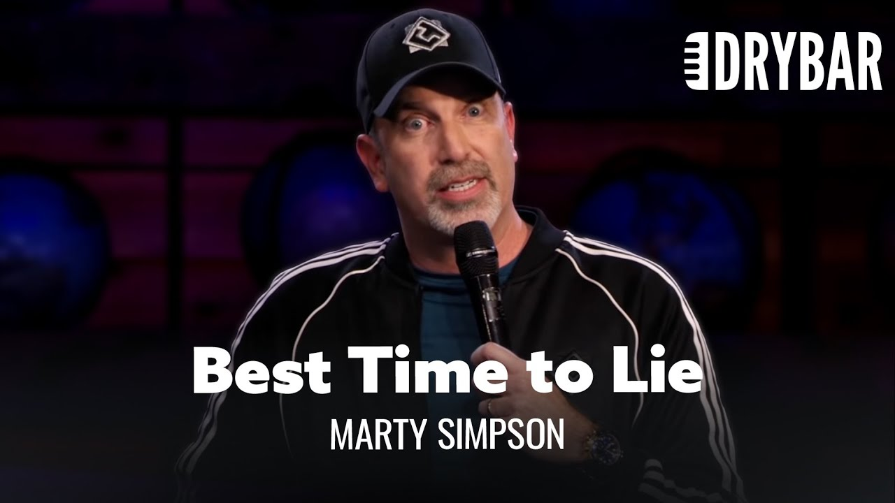 When To Lie To Your Wife. Marty Simpson - Full Special