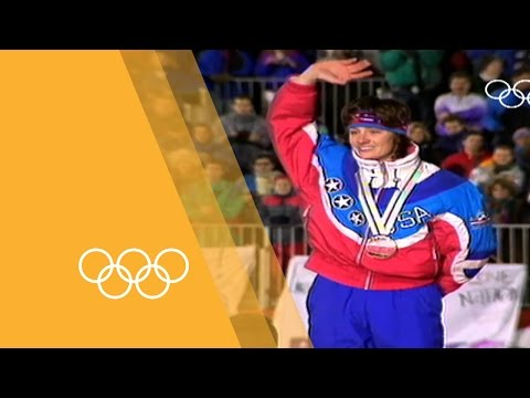 "Bonnie Blair - ""The whole world is watching"" 
