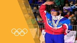"""Bonnie Blair - """"The whole world is watching"""" 