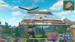 The most glitched MaJ in fortnite! (Flying through the air/Shooting through walls)
