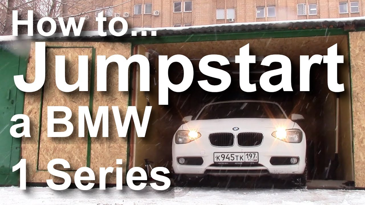 How To Jumpstart A Bmw 1 Series F20 F21 Where Is The Battery