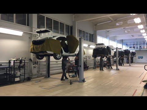 РЕАЛЬНО! Как собирают ЛАДА ВЕСТА на МЕТАНЕ | How To Assemble A Car LADA VESTA CNG (МЕТАН)