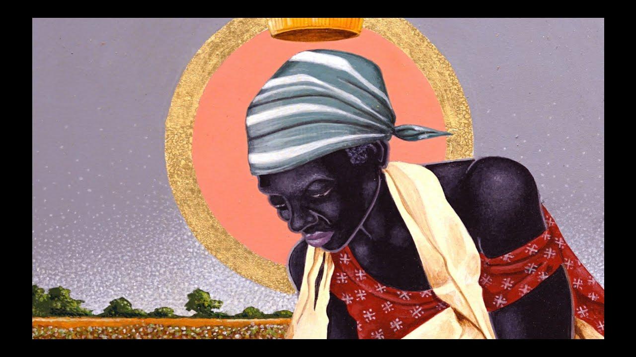 "GUY HECTOR interviews BILL TURNER on the Exhibition ""BLACK MADONNA"""