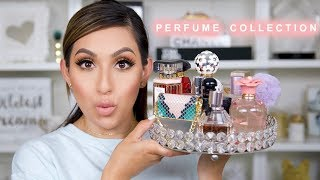 BEST PERFUMES EVER! PERFUME COLLECTION | BeautyyBird