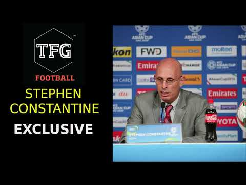 Stephen Constantine - 'Some of the crap you come up with is nonsense'