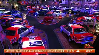 Peter Brock's racing car collection to be auctioned off