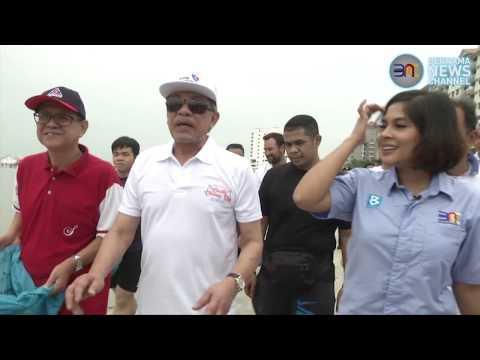 [SANA SINI] Aktiviti Pembersihan Pantai Bersama Dato' Sri Anwar Ibrahim