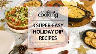 3 easy, cheesy dip recipes