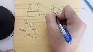 First Condition of Equİlibrium - Tension Forces with angles