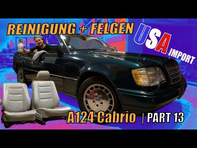Schönheitskur für das US-Cabrio || W124 || MKB-TEC