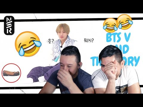 GUYS REACT TO BTS 'V And The Story About His Shoes'