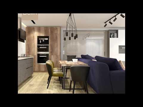 Дизайн квартиры в ЖК Еврогород 78 м² ET01